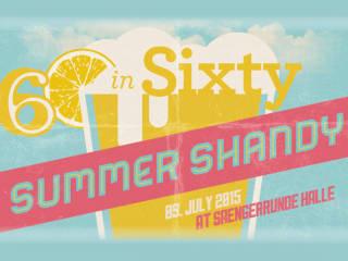 Fusebox Festival Sixty in 60 Summer Shandy July 2015
