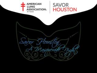 Savor Houston, A Masquerade Night!