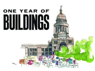 """Jessica Fontenot presents """"One Year of Buildings"""""""