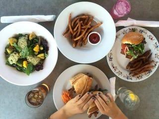 Sala and Betty Austin restaurant Airport food dish