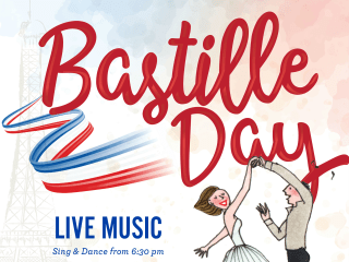 Le Bistro presents Happy Bastille Day