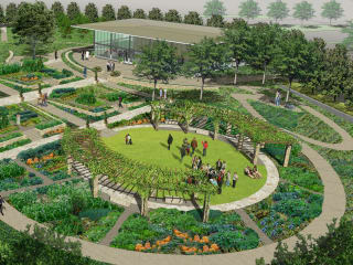 Dallas Arboretum and Botanical Garden presents A Tasteful Place Ribbon Cutting
