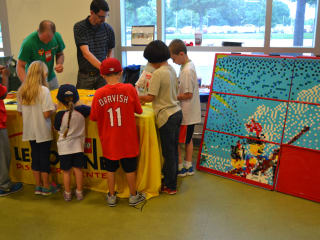 LEGOLAND® Discovery Center Dallas/Fort Worth presents Building Massive LEGO Mosaic