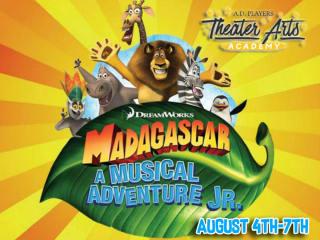 A.D. Players Theater Arts Academy presents <i>Madagascar: A Musical Adventure</i>