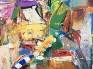 "Bivins Gallery presents Richard Hickam: ""Expressions of Color"""