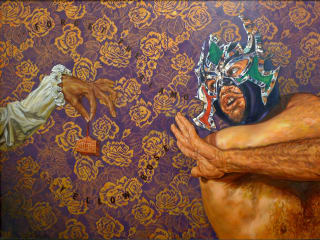 """The Guadalupe Cultural Arts Center presents """"The Other Side of the Alamo: Art Against the Myth Exhibition"""" opening reception"""