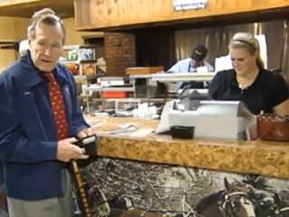 News_Bush at Otto's Hamburger_Jan 10