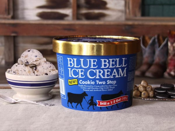 Blue Bell Ice Cream Two Step