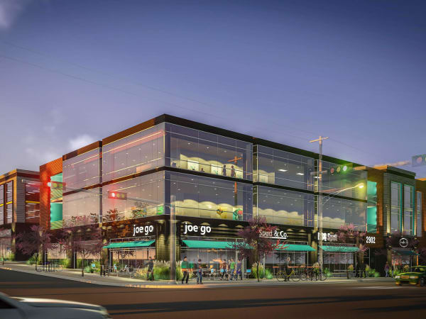 Cityline at MLK Station development East Austin rendering