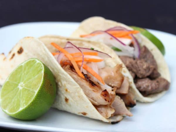 Hoya Korean Kitchen tacos