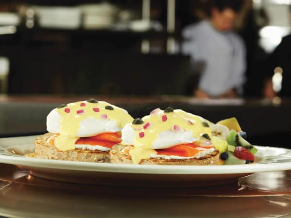 Eggs Benedict from Eggspectation