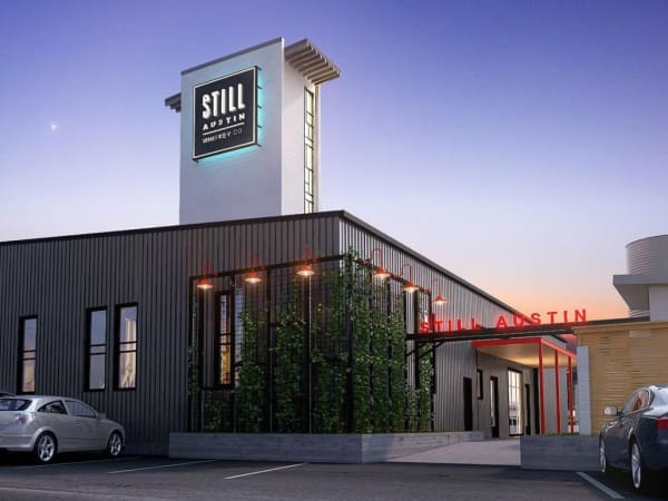 Still Austin Whiskey Co distillery rendering