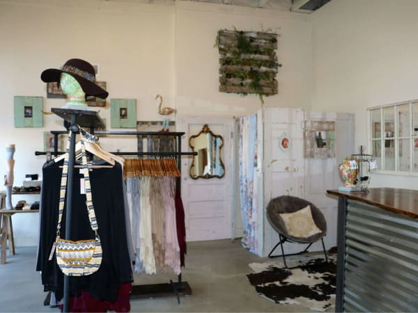 Interior of Winter Lennon storefront in Oak Cliff