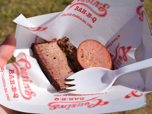 Texas Monthly TMBBQ Fest 2016 Cousins Bar-B-Que Fort Worth barbece