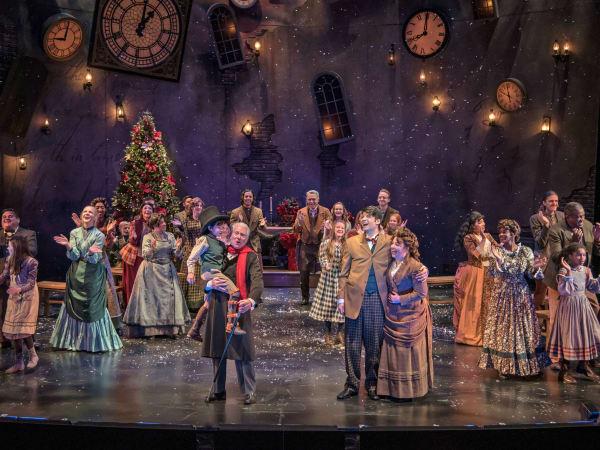 A Christmas Carol Zach Theatre 2015