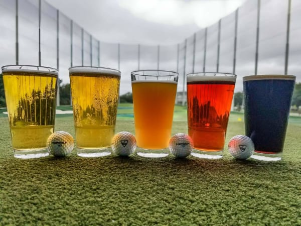 Topgolf beer