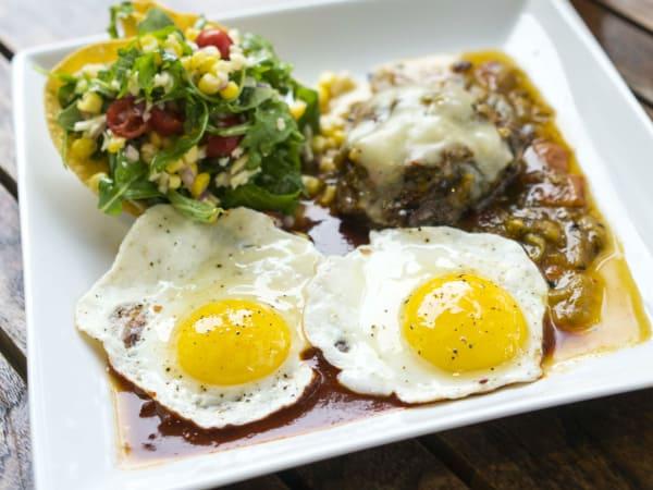 Vinaigrette Austin restaurant brunch steak and eggs