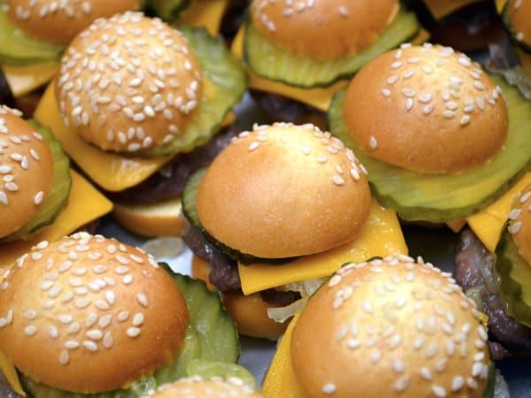 Houston, new happy hour deals, March 2017, Tony's mini cheeseburgers