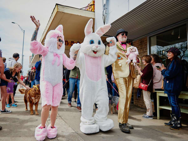 Jo's Easter Pet Parade