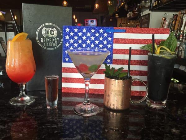 Revelry on Richmond Olympics cocktails