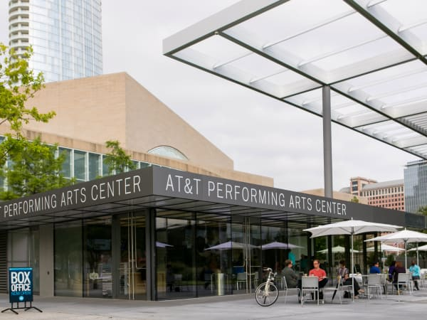 AT&T Performing Arts Center cafe and box office