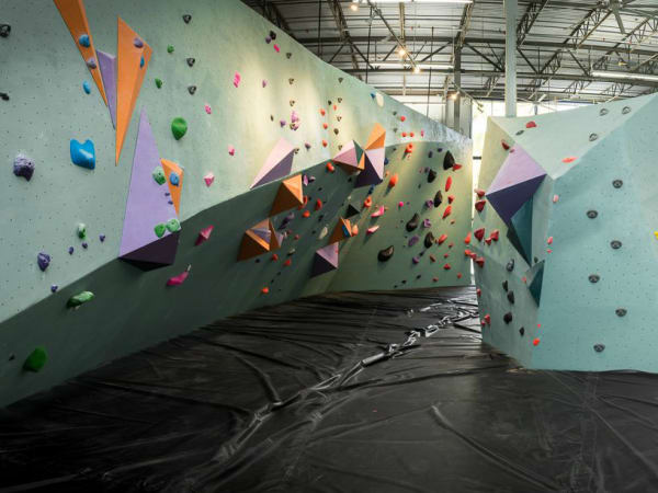 Austin Bouldering Project rock climbing wall