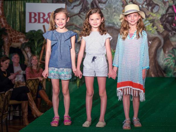 Houston Symphony Children's Fashion Show, March 2016, Emma Thompson, Callie Toomey, Gwen Leach