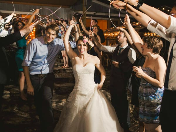 The Sanctuary Event Space wedding bride groom party