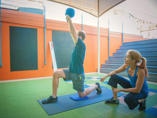 Personal trainer at Castle Hill Fitness in Austin