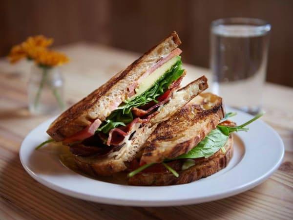 Bakery Lorrain San Antonio BLT bacon lettuc tomato sandwich