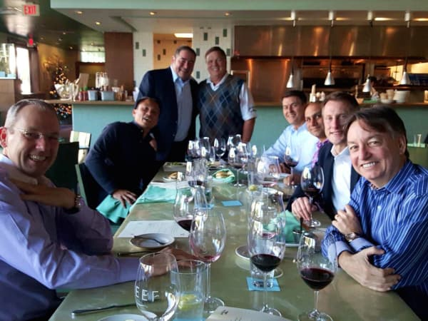Emeril Lagasse and friends at Reef, CM crop