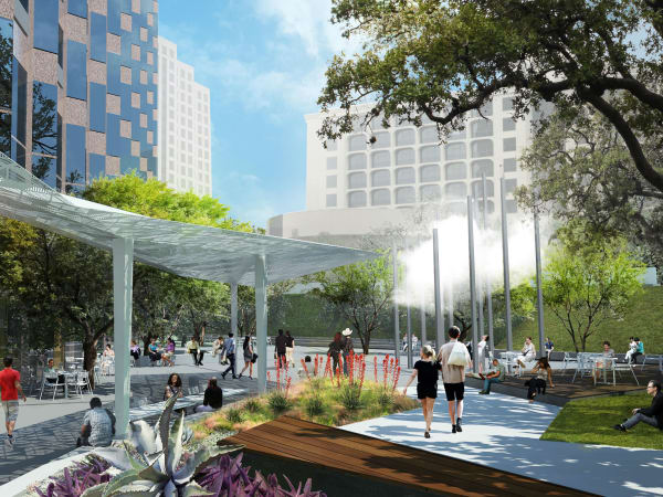 Fareground park rendering