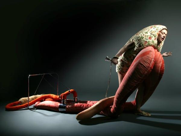 Still from Lamentation, Clarina Bezzola, Video Performance
