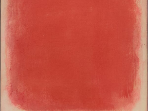 Mark Rothko, Red and Pink on Pink