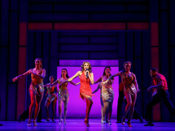 Deborah Cox as Rachel Marron and Company in The Bodyguard