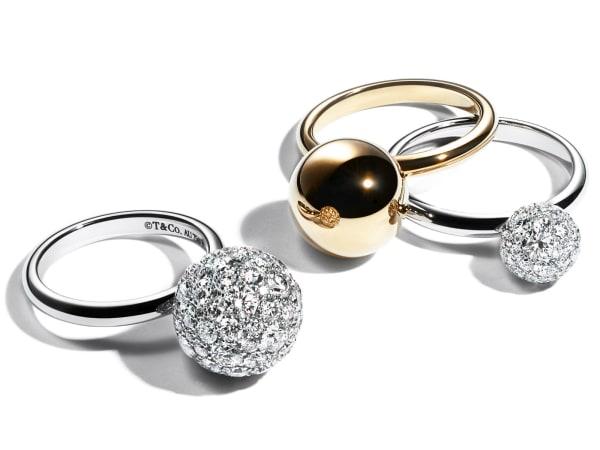 Tiffany & Co. HardWear rings