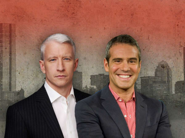Anderson Cooper, Andy Cohen