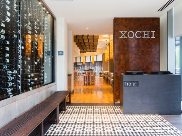 Xochi entrance Hugo Ortega Tracy Vaught