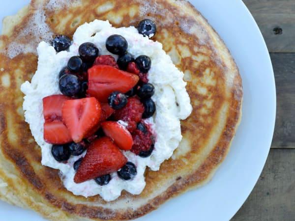 Tres leches pancake Chisme SA