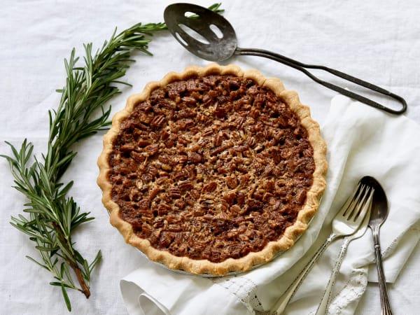 Pecan pie, Buttermilk Sky Pie Shop, Colleyville