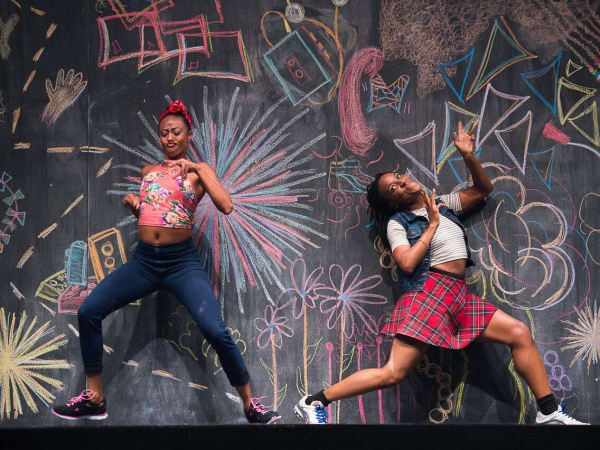Fana Fraser and Beatrice Capote of Camille A. Brown Dance Company, TITAS Presents