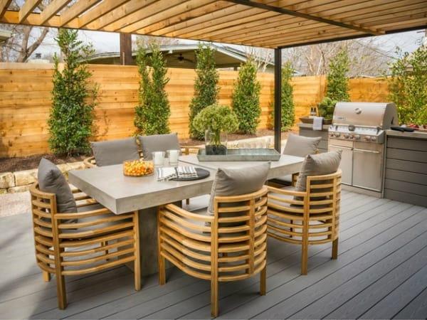 Backyard Deck of HGTV 2015 Smart Home