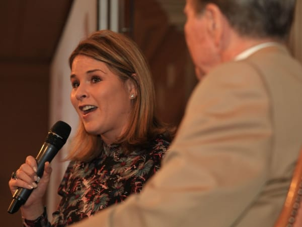 Jenna Bush Hager, Park Cities Historical Preservation luncheon 2018