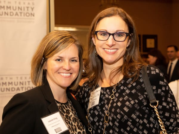 North Texas Community Foundation, Lauren King, Lindsey Garner
