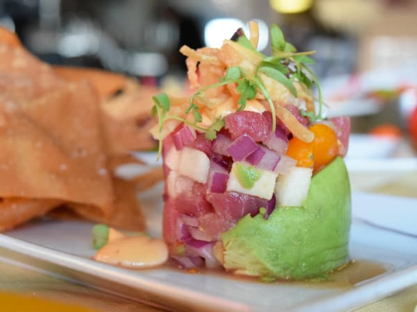 Ceviche Ceviche poke seafood tower