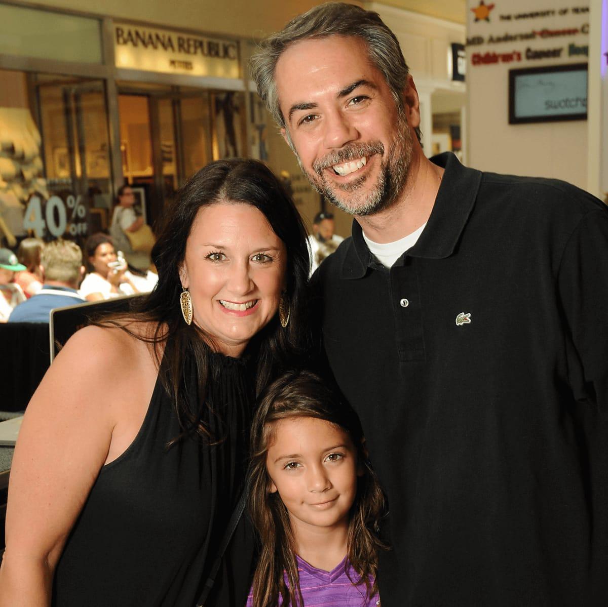 MD Anderson Back to School, 7/16 Brooke Mercer, Scarlett Mercer, Mike Mercer