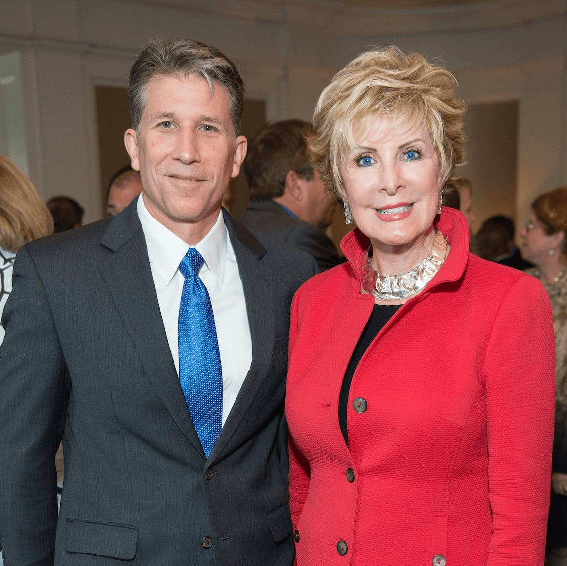 Mission to Mars luncheon 9/16, Jeff Whetzel, Mary Ann Wilkins