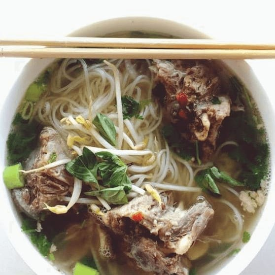 PhoNatic restaurant Austin pho noodle soup