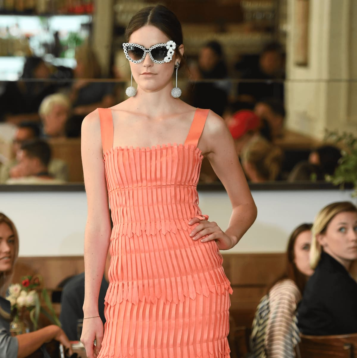 Lela Rose spring 2017 collection look 6