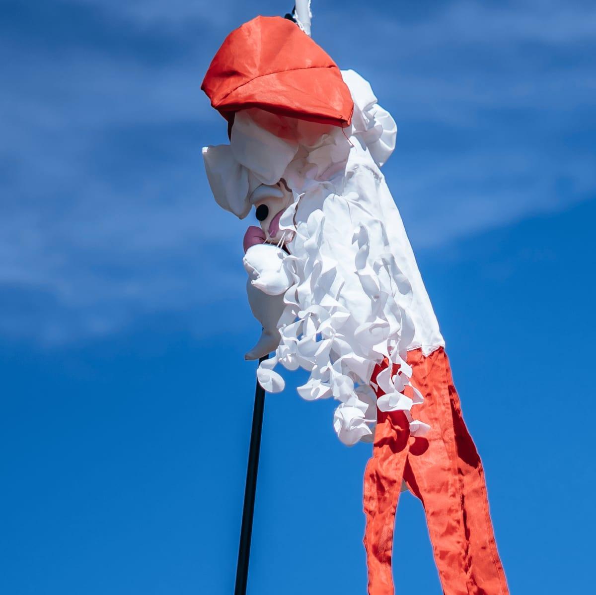 ACL Austin City Limits Music Festival 2016 flags Santa Claus